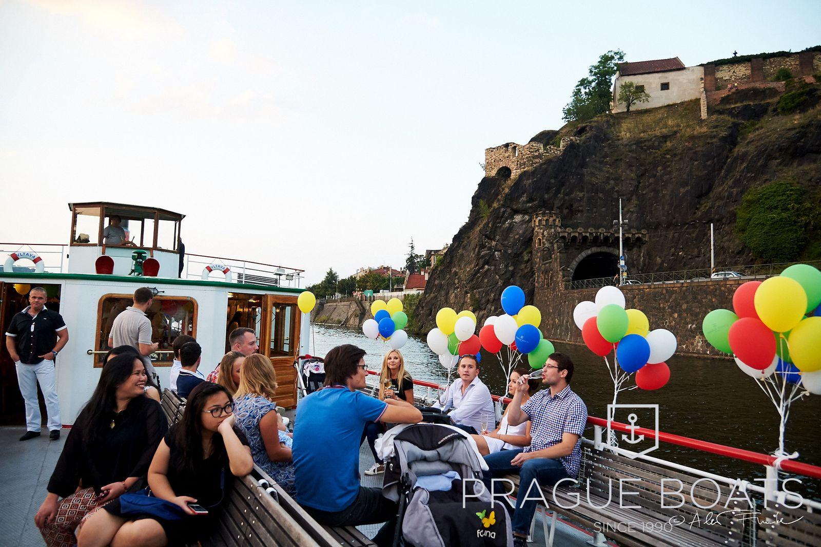 Dampfschiff Vltava | Prague-Boats cz