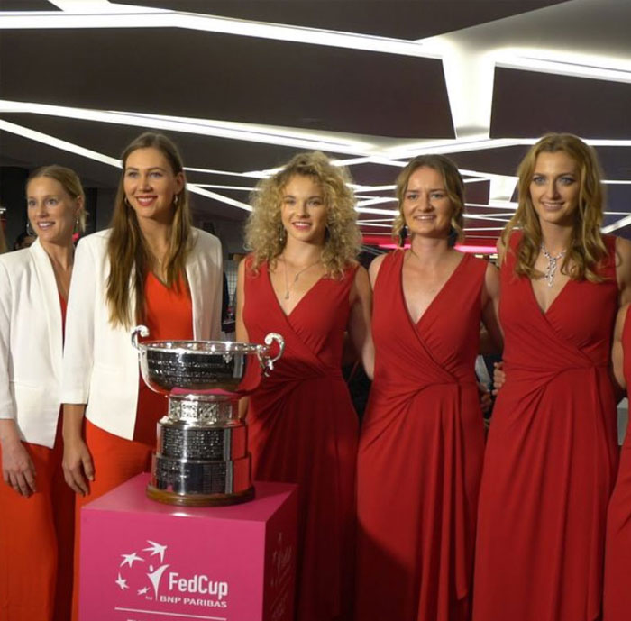 Fed Cup 2018 - party - FedCup 2018 opening on the Grand Bohemia Boat