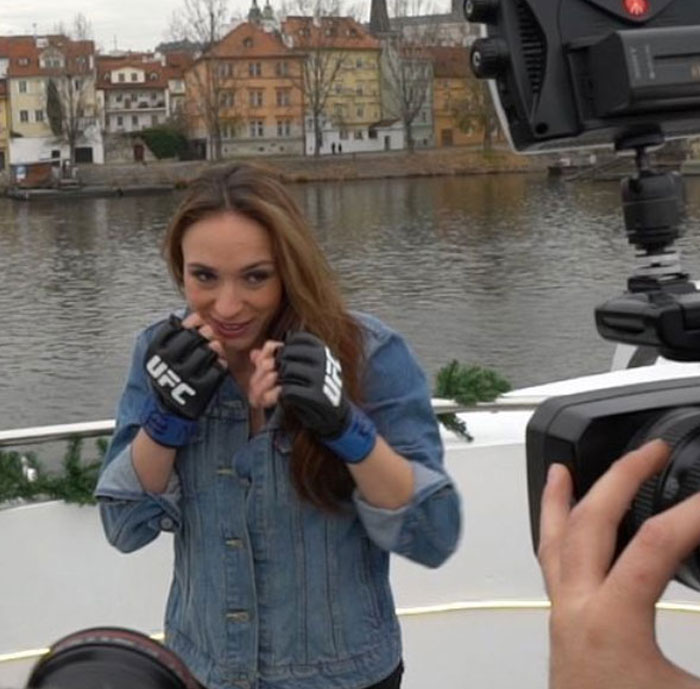 UFC - press conference on the Grand Bohemia Boat