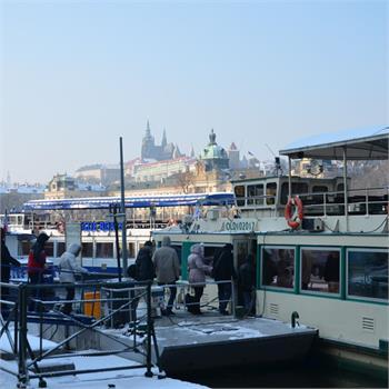 Plavby po Vltavě – zima 2012/2013