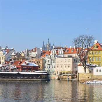 Winter River Cruise in Prague
