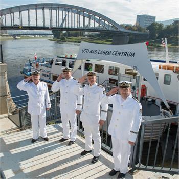 Prezentační plavba PPS na lodi Odra