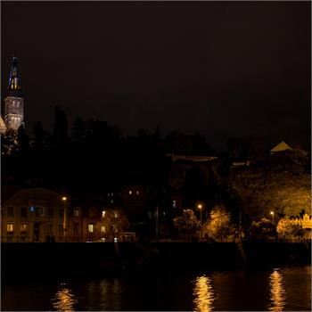 Historical steamers Vltava and Vyšehrad and the Signal Light Festival