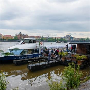 Slavnostní představení lodi Grand Bohemia