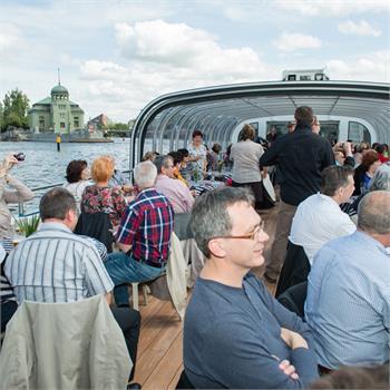 Plavba Sdružení tajemníků městských úřadů na Grand Bohemia