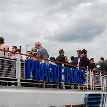 Svatba na lodi Šumava
