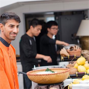 Catering na Grand Bohemii na vysoké úrovni