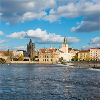 Indian summer in Prague