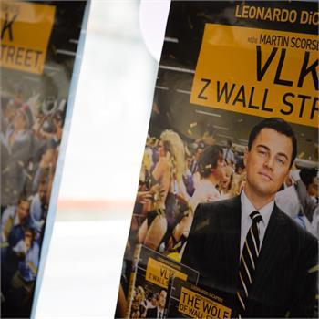 Křest DVD Vlk z Wall Street na parníku Vltava