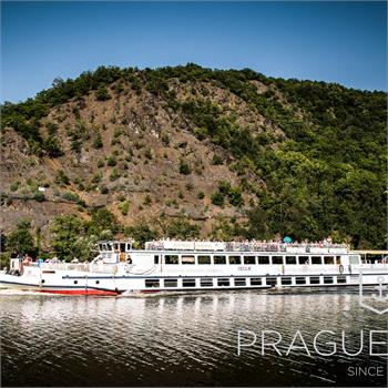 Cecílie Boat at a sightseeing cruise