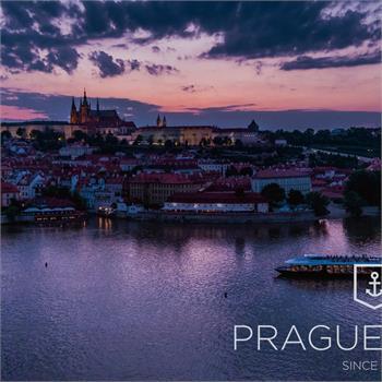 Dechberoucí západ slunce v Praze