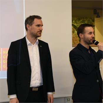 Slavnostní otevření  Podnikatelského a inovačního centra hl. m. Prahy