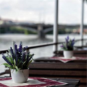 Vltava steamboat - interior