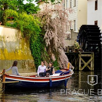 Private boat rental Šárka