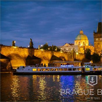 Evening cruise on the Vltava