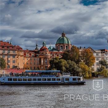 Prague sights around the Vltava river