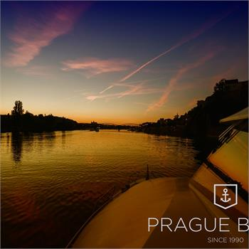 Sunset in Prague