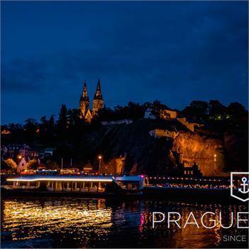 Evening cruise in Prague