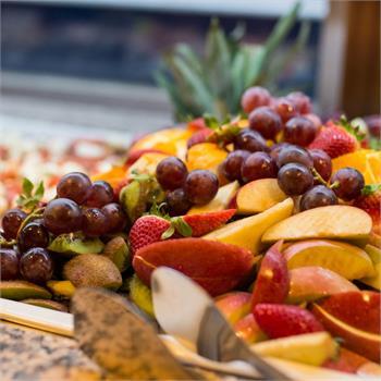 Výběr nejrůznějšího ovoce