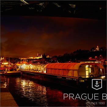 Grand Bohemia in the dock near Čech bridge