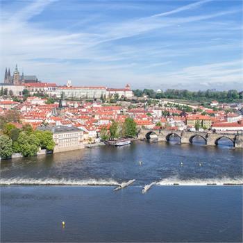 Praha ze vzduchu