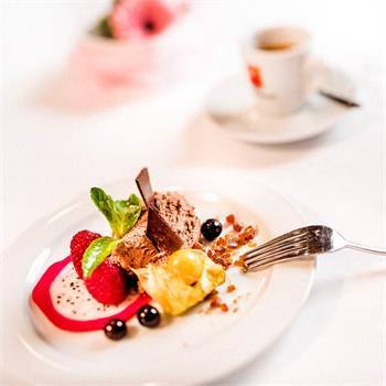 Mousse au chocolat  s kávou