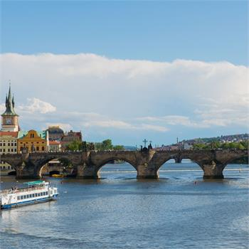 Enjoy Charles Bridge close up