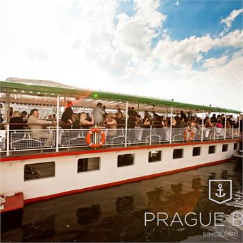 Private event on the Vltava steamboat