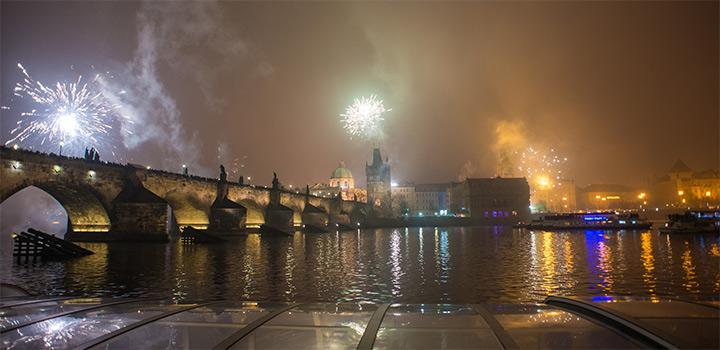 Jaký byl Silvestr 2016 na Vltavě