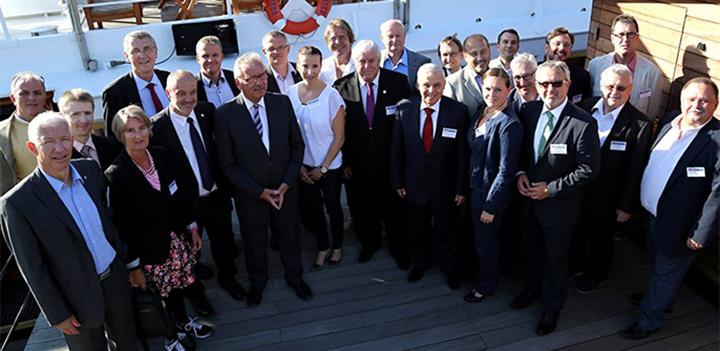 Loď Lužnice hostila česko-německé setkání