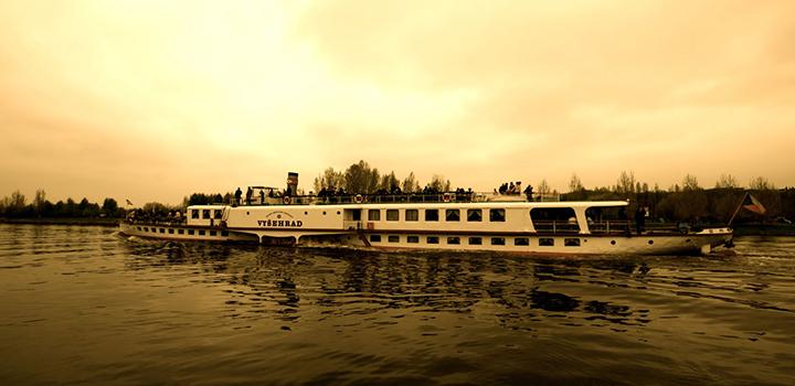Vyšehrad Steamboat - 75th anniversary