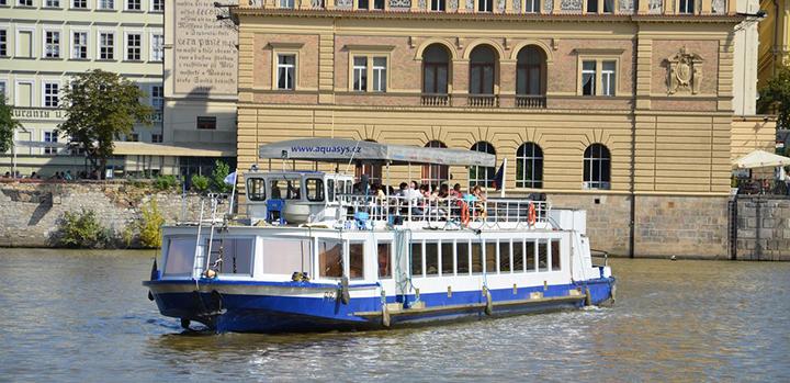 Prague river cruises - summer season 2013