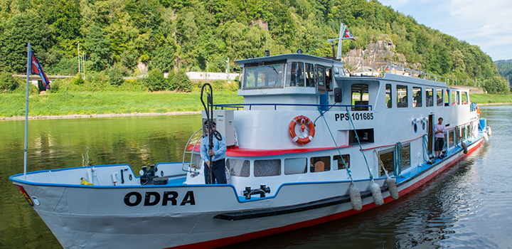 Odra´s first cruise to Dresden