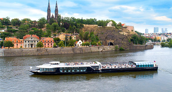 Private river cruises in Prague